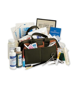 Contents of the L.L.Bean Sporting Dog First Aid Kit