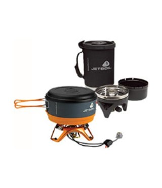 Components of the Jetboil Cooking System