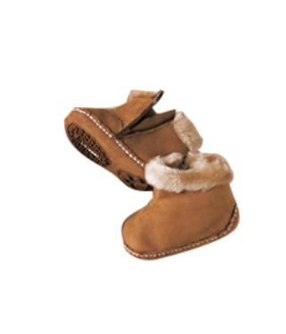 Infants' Faux-Shearling Booties