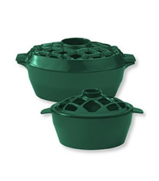 Two Lattice Stovetop Steamers