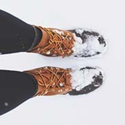 L.L.Bean Boots, walking through grass.