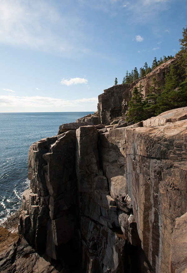 Cliffs at Acadia.