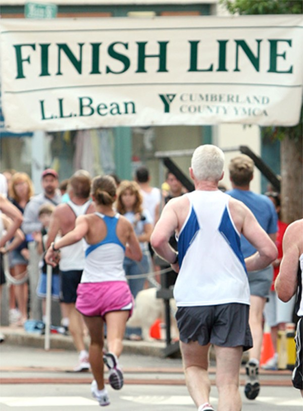 The L.L.Bean Fourth of July 10K.