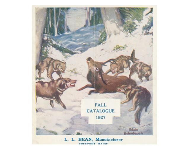 The fall 1927 L.L.Bean catalog.