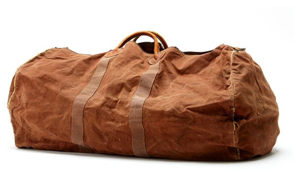 The original L.L.Bean Zipper Duffle.