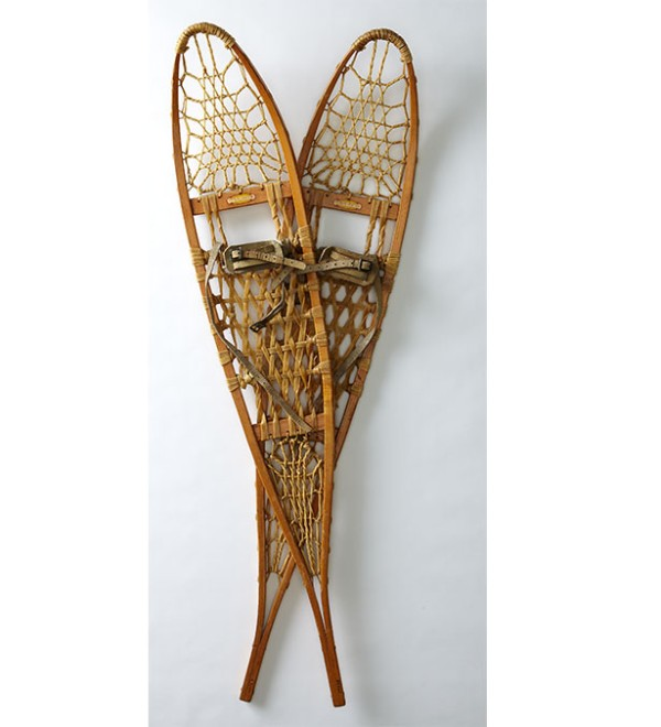 Vintage L.L.Bean snowshoes from the 1960s.