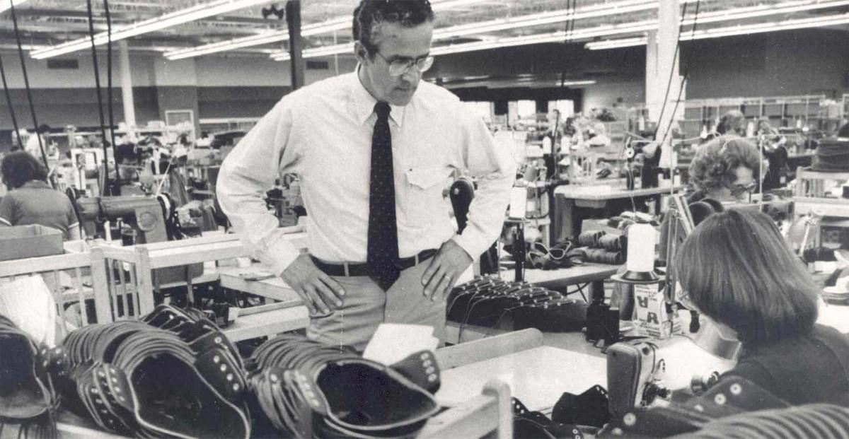 Former president, Leon Gorman.