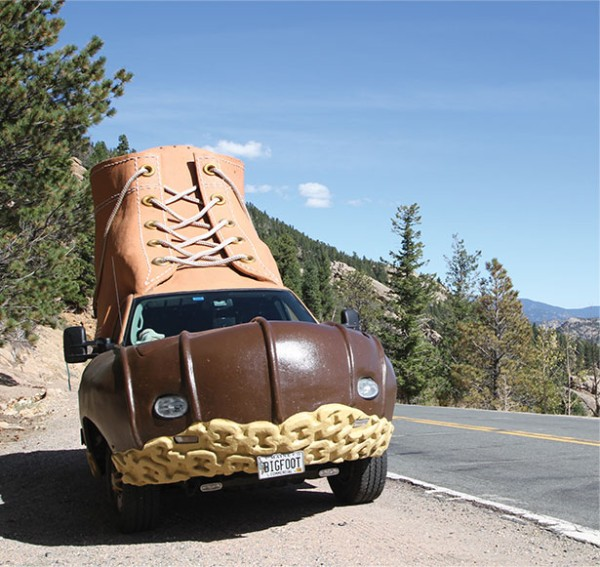 The Bootmobile.