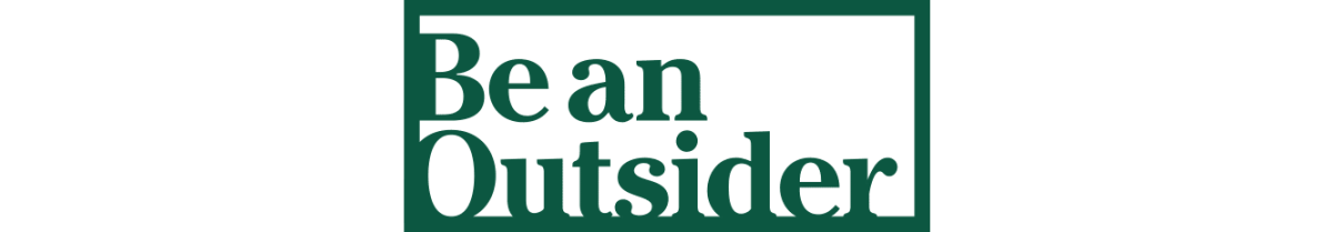 Be an Outsider logo.