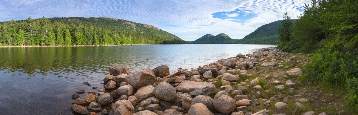 A scenic view at Acadia National Park.