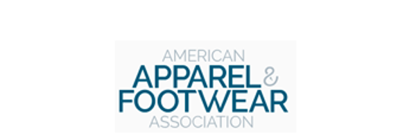 American Apparel and Footwear Association logo.