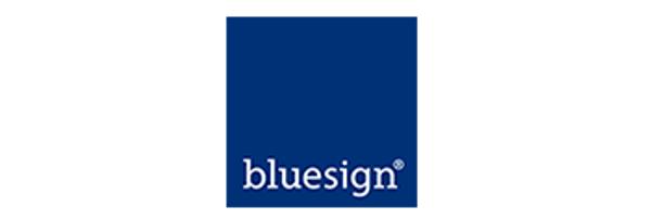 bluesign logo.