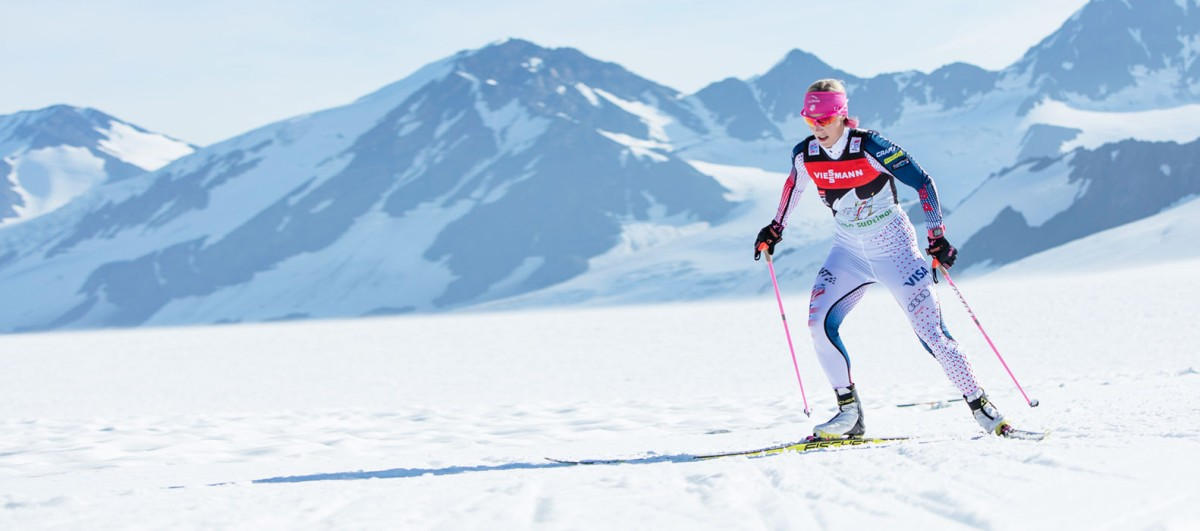 Kikkan Randall, cross-country skiing.