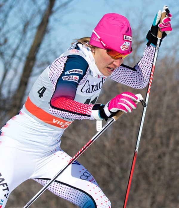 Sophie Caldwell, 2016 Cross Country World Cup Champion.