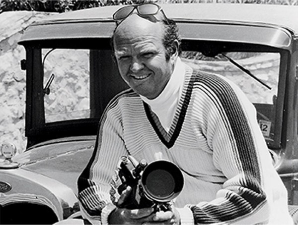 Warren Miller, iconic ski and snowboarding filmmaker.