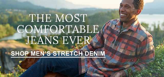 The Most Comfortable Jeans Ever.