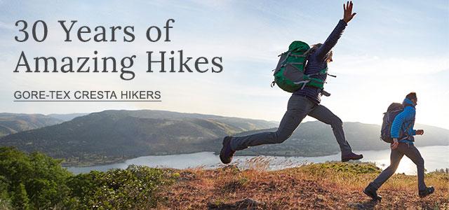 30 Years of Amazing Hikes.