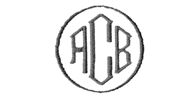 Image of Insignia monogram style.