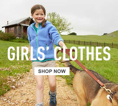 Girls' clothes.