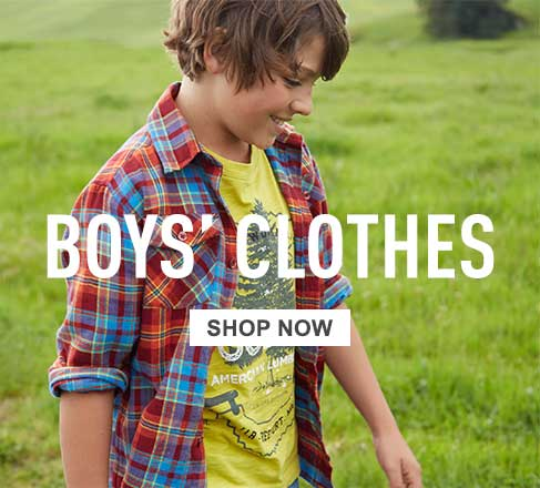 Boys' clothes.