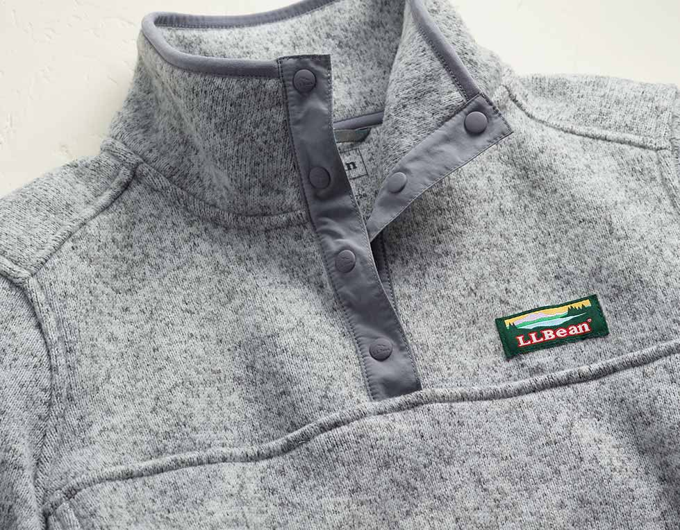 L.L.Bean Sweater Fleece.
