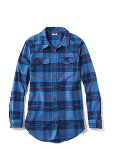 Women's Whisper Lodge Flannel Tunic.