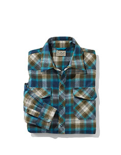 Men's Overland Performance Flannel Shirt.