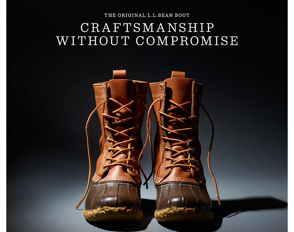 The original L.L.Bean Boot. Craftsmanship without compromise.