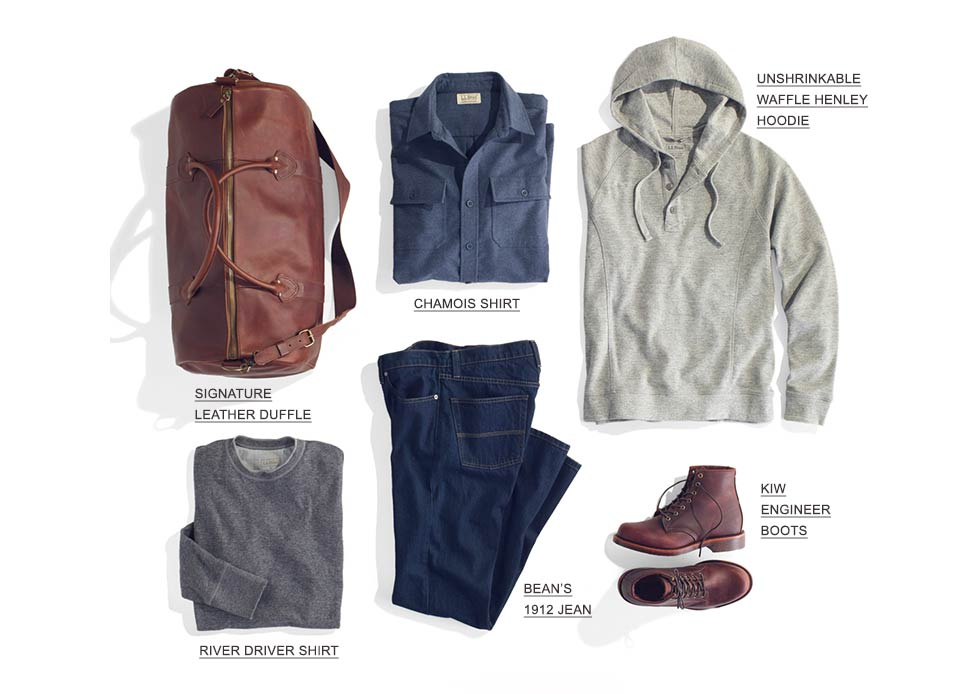 Assortment of Men's Fall Products