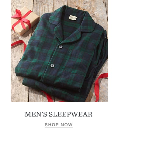 Men's sleepwear.