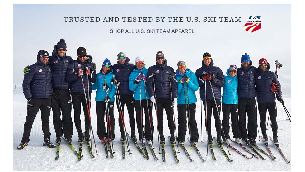 Trusted and tested by the U.S. Ski Team.