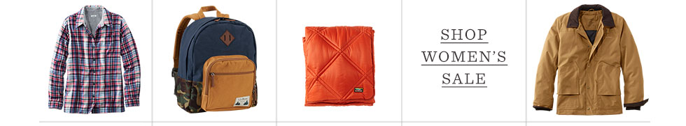 Images of L.L.Bean Products.