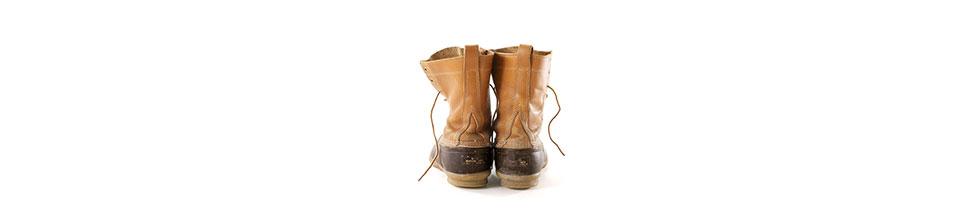 Classic L.L.Bean Boots.