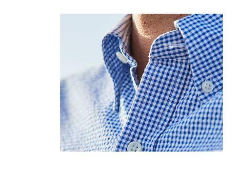 Image of Seersucker Shirt.