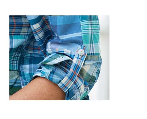 Image of Indian Madras Shirt.