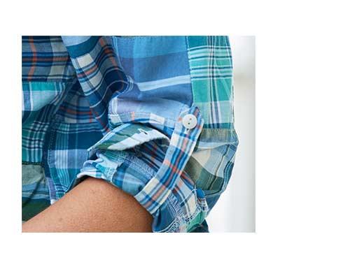 Image of Indian Madras Shirt.