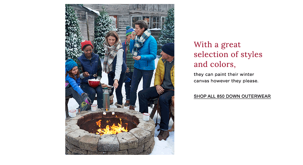 With a great selection of styles and colors, they can paint their winter canvas however they please.