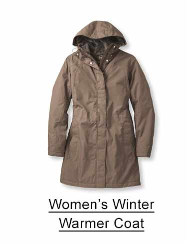 Women's Winter Warmer Coat.