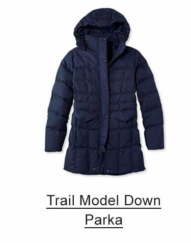 Women's Trail Model Down Parka.