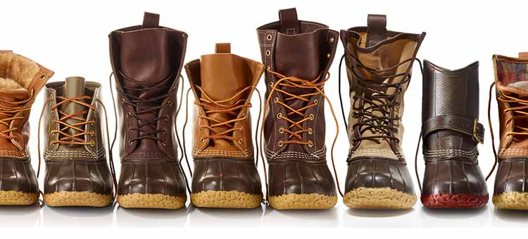 Wide Selection of Bean Boots by L.L.Bean styles