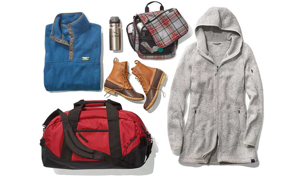 Selection of gifts to give for a last-minute adventure.