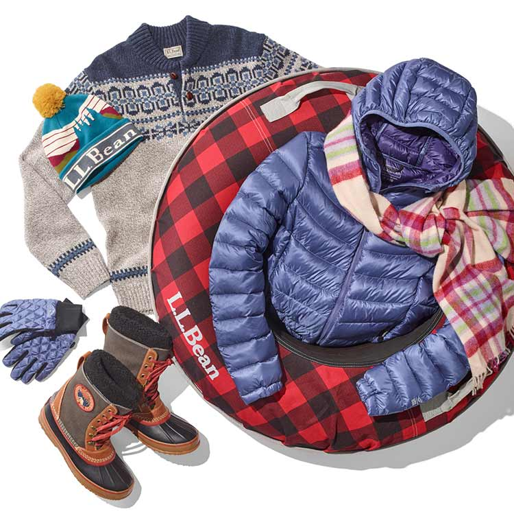 Selection of gifts for warmer wipeouts.