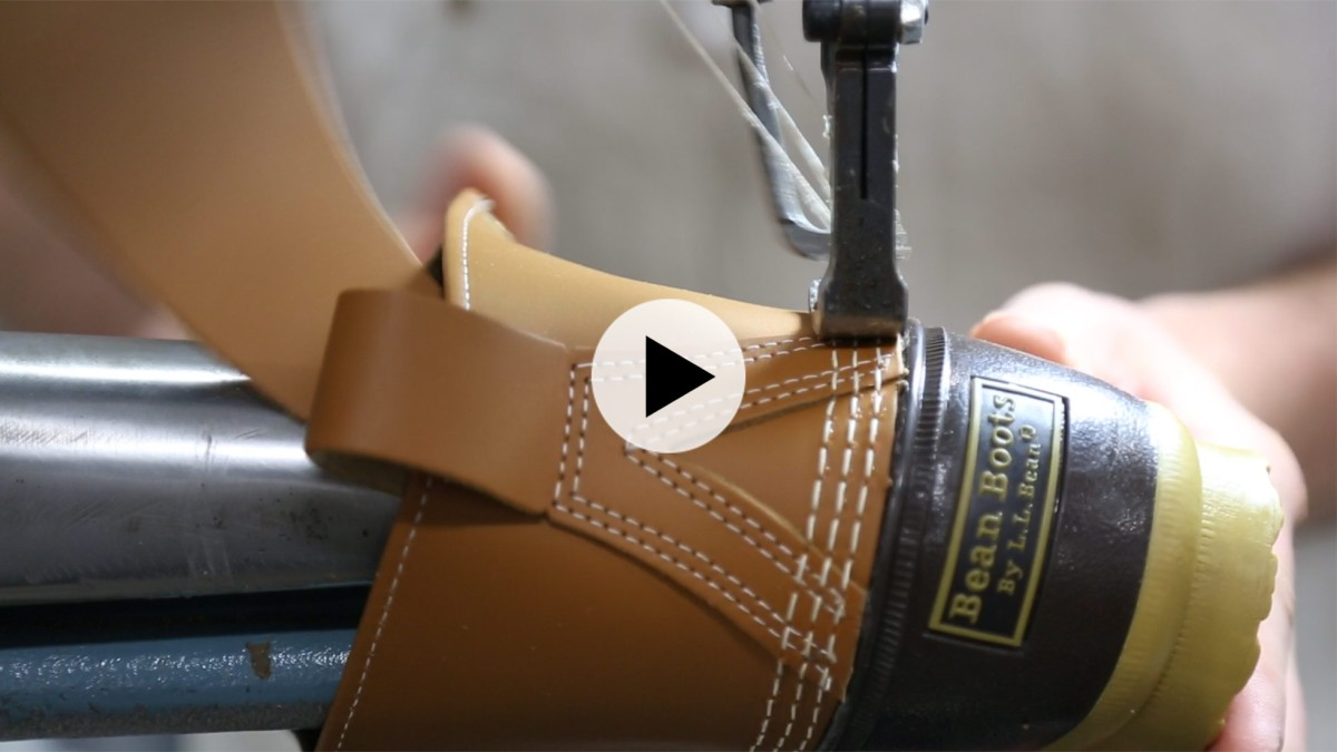 The Original L.L.Bean Boot, meticulously handmade in Maine