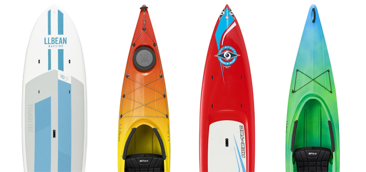 For help deciding which boat or boat to choose, check the new L.L.Bean Kayak and Stand Up Paddle Board buyers' guides.