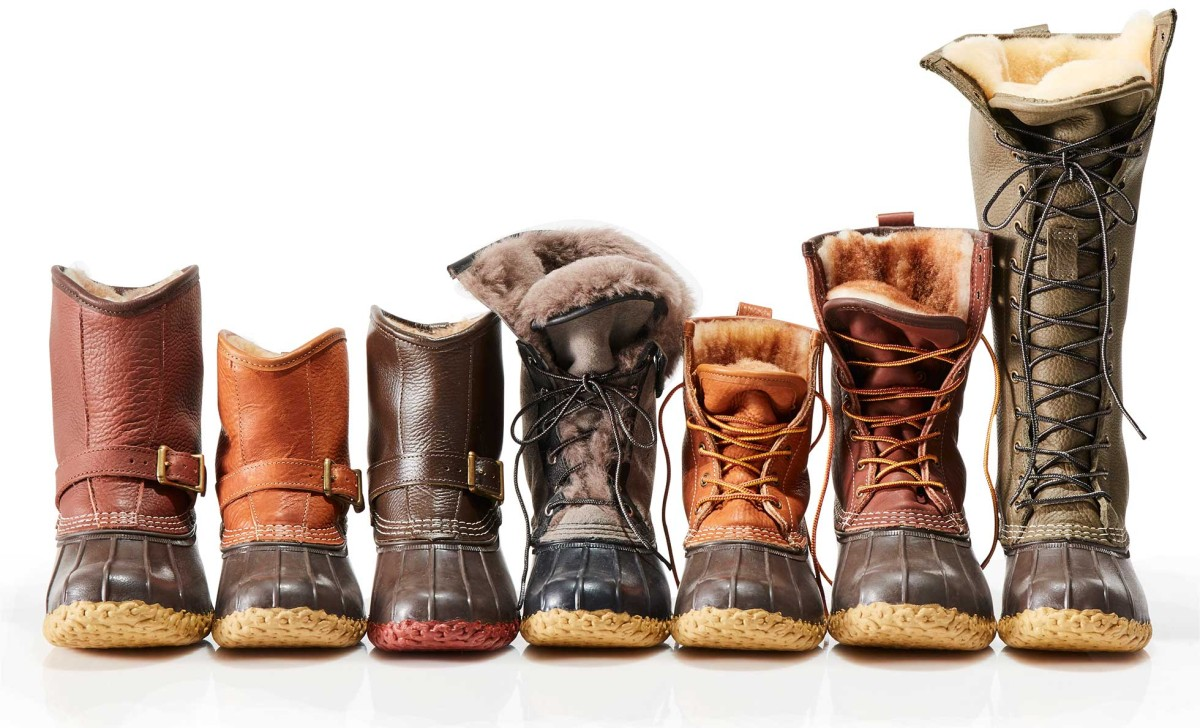 Small batch bean boots for Llbean 2 a day markdown