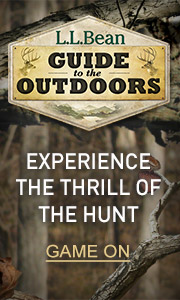 L.L.Bean Guide to the Outdoors. Experience the Thrill of the Hunt.