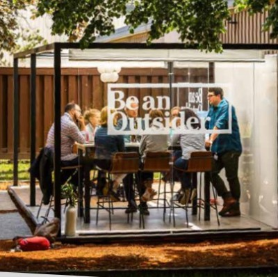 L.L.BEAN LAUNCHES OUTDOOR COWORKING SPACE