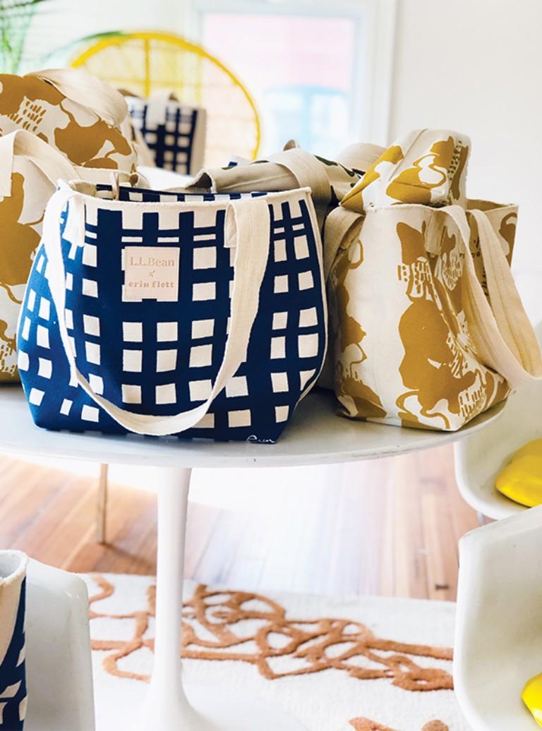 Erin Flett L.L. Bean bag Collection