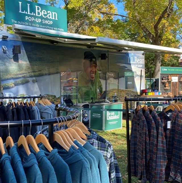 L.L.BEAN POP-UP SHOP