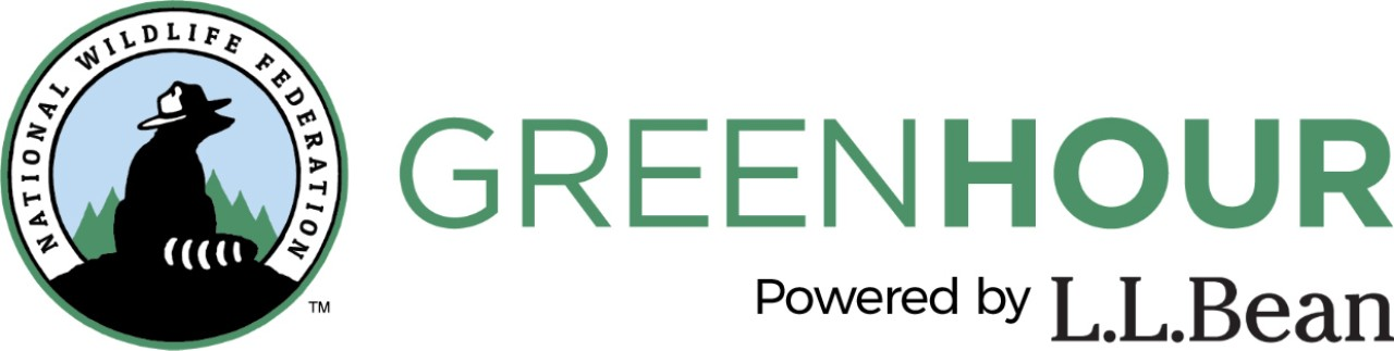Logo for the Green Hour